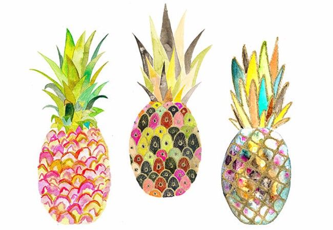 WE JUST LOVE PINEAPPLES - slide 2